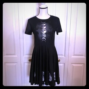 NWOT Phases of the Moon Dress